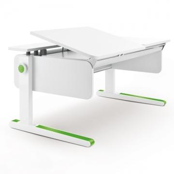 Moll Champion Schreibtisch mit grünen Farbakzenten