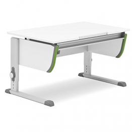 Moll Schreibtisch Joker mit grünen Accesoirs
