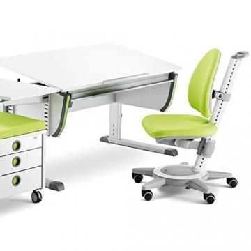 Moll Schreibtisch Joker mit grünem Stuhl
