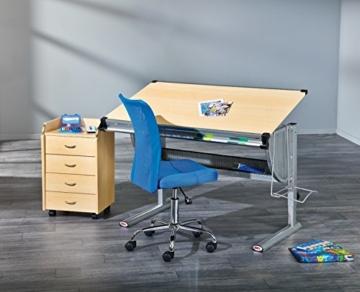 Inter Link Schülerschreibtisch Kinderschreibtisch Arbeitstisch Schreibtisch MDF Ahorn Nachbildung - 2