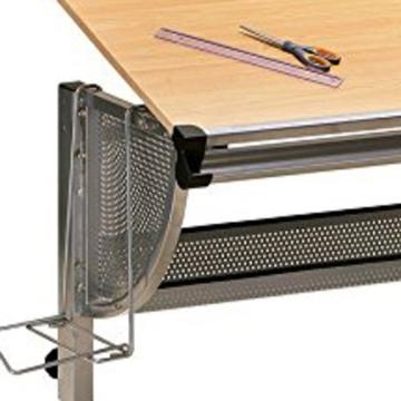 Inter Link Schülerschreibtisch Kinderschreibtisch Arbeitstisch Schreibtisch MDF Ahorn Nachbildung - 10